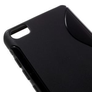 S-line gelový obal na mobil Xiaomi Mi5 - černý - 4