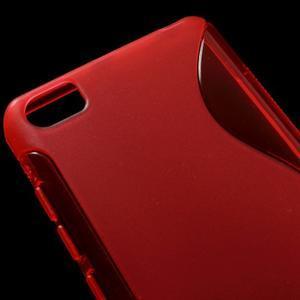 S-line gelový obal na mobil Xiaomi Mi5 - červený - 4
