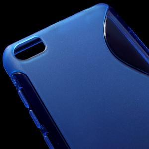 S-line gelový obal na mobil Xiaomi Mi5 - modrý - 4