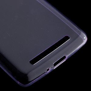 Ultratenký slim gelový obal na mobil Xiaomi Redmi 3 Pro - fialový - 4