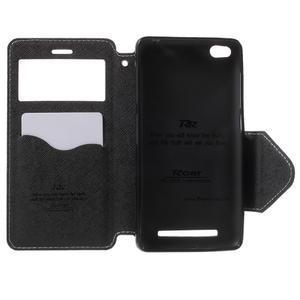 Diary view peněženkové pouzdro na Xiaomi Redmi 3 - bílé - 4