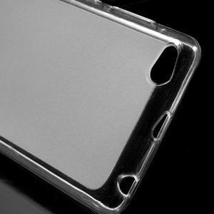 Matné gelové pouzdro na mobil Xiaomi Redmi 3 - transparentní - 4