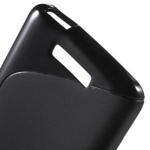 S-line gelový obal na mobil Xiaomi Redmi Note 2 - černý - 4