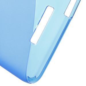 S-line gelový obal na mobil Xiaomi Redmi Note 2 - modrý - 4
