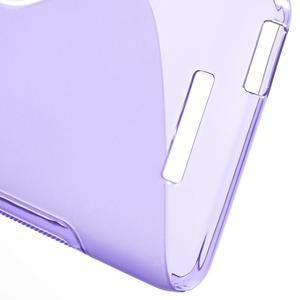 S-line gelový obal na mobil Xiaomi Redmi Note 2 - fialový - 4