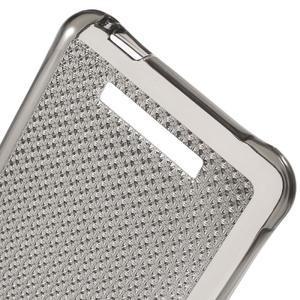 Diamonds gelový obal na Xiaomi Redmi Note 2 - šedý - 4