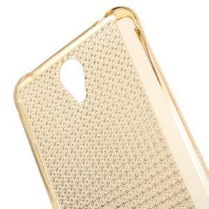Diamonds gelový obal na Xiaomi Redmi Note 2 - zlatý - 4