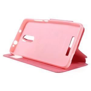 Diary pouzdro s okýnkem na mobil Xiaomi Redmi Note 3  - rose - 4
