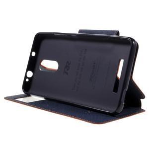 Diary pouzdro s okýnkem na mobil Xiaomi Redmi Note 3  - oranžové - 4