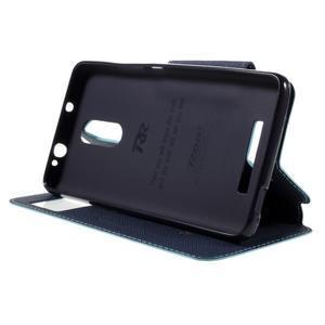 Diary pouzdro s okýnkem na mobil Xiaomi Redmi Note 3  - světlemodré - 4