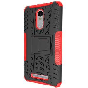 Outdoor odolný kryt na Xiaomi Redmi Note 3 - červený - 4