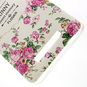 Softy gelový obal na Xiaomi Redmi Note 3 - květiny - 4