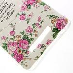 Softy gelový obal na Xiaomi Redmi Note 3 - květiny - 4/5