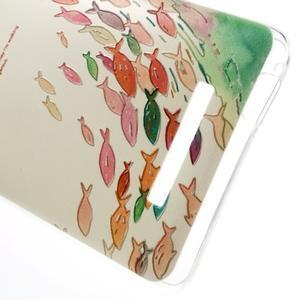 Softy gelový obal na Xiaomi Redmi Note 3 - ryby - 4