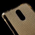 Diamonds gelový obal na Xiaomi Redmi Note 3 - zlatý - 4/5
