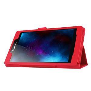 Dvoupolohové pouzdro na tablet Lenovo Tab 2 A7-20 - červené - 4