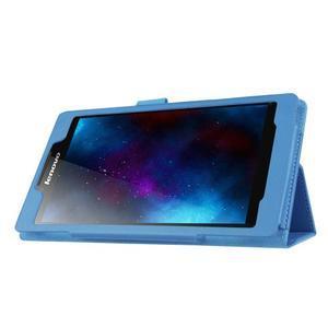 Dvoupolohové pouzdro na tablet Lenovo Tab 2 A7-20 - světlemodré - 4
