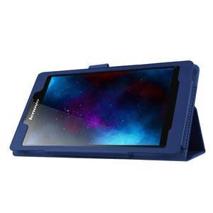 Dvoupolohové pouzdro na tablet Lenovo Tab 2 A7-20 - tmavěmodré - 4
