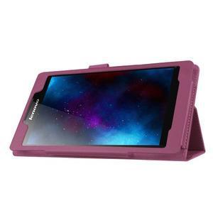 Dvoupolohové pouzdro na tablet Lenovo Tab 2 A7-20 - fialové - 4