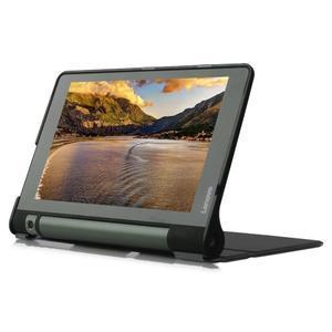 Polohovatelnotelné PU kožené pouzdro na Lenovo Yoga Tab 3 8.0 - černé - 4