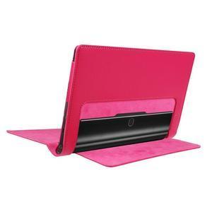 Safe PU kožené pouzdro na tablet Lenovo Yoga Tab 3 8.0 - rose - 4