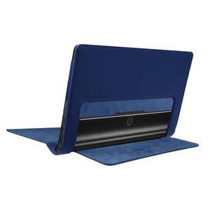 Safe PU kožené pouzdro na tablet Lenovo Yoga Tab 3 8.0 - tmavěmodré - 4