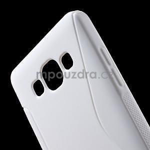 Gelové s-line pouzdro na Samsung Galaxy A3 - bílé - 4