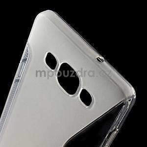 Gelové s-line pouzdro na Samsung Galaxy A3 - transparentní - 4