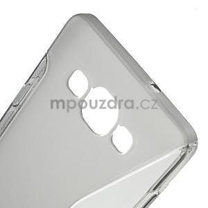 Gelové s-line pouzdro na Samsung Galaxy A3 - šedá - 4