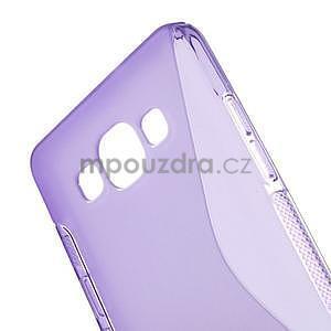 Gelové s-line pouzdro na Samsung Galaxy A3 - fialová - 4
