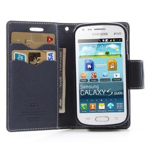 Diary pouzdro na mobil Samsung Galaxy S Duos/Trend Plus - zelené - 4