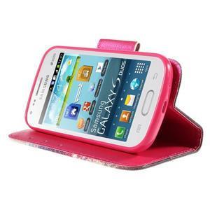 Peněženkové pouzdro pro Samsung Galaxy S Duos / Trend Plus - oko - 4