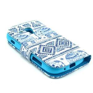 Safety pouzdro pro Samsung Galaxy S Duos/Trend Plus - sloni - 4