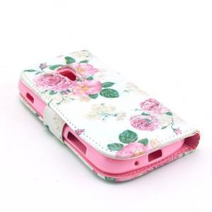 Safety pouzdro pro Samsung Galaxy S Duos/Trend Plus - růže - 4
