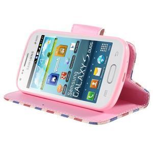 Peněženkové pouzdro pro Samsung Galaxy S Duos / Trend Plus - Eiffelova věž - 4