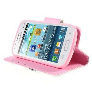 Peněženkové pouzdro pro Samsung Galaxy S Duos / Trend Plus - sova - 4