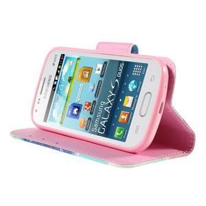 Peněženkové pouzdro pro Samsung Galaxy S Duos / Trend Plus - snění - 4