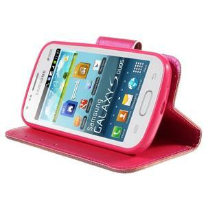 Peněženkové pouzdro pro Samsung Galaxy S Duos / Trend Plus - zlomené srdce - 4