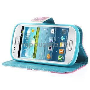 Pouzdro na mobil Samsung Galaxy S3 mini - kvetoucí větvička - 4