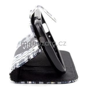 Peněženkové pouzdro na Samsung Galaxy S3 mini - hakuna - 4