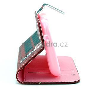 Peněženkové pouzdro na Samsung Galaxy S3 mini - telefonní budka - 4