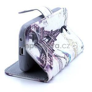 Eiffel peněženkové pouzdro na mobil Samsung Galaxy S4 mini - 4