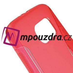 Gelové s-line pouzdro na Samsung Galaxy S6 - červené - 4