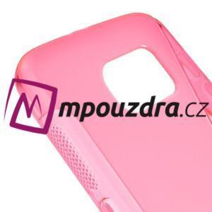 Gélové s-line puzdro pre Samsung Galaxy S6 - ružové - 4