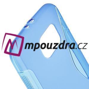 Gelové s-line pouzdro na Samsung Galaxy S6 - modré - 4
