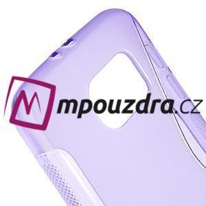 Gelové s-line pouzdro na Samsung Galaxy S6 - fialové - 4
