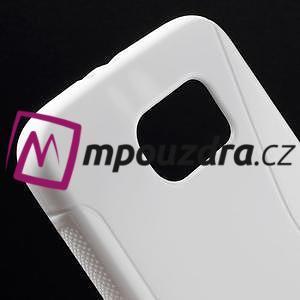 Gelové s-line pouzdro na Samsung Galaxy S6 - bílé - 4