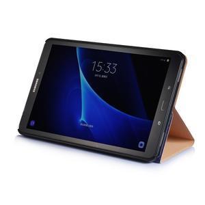Picture polohovatelné pouzdro na Samsung Galaxy Tab A 10.1 (2016) - vintage - 4