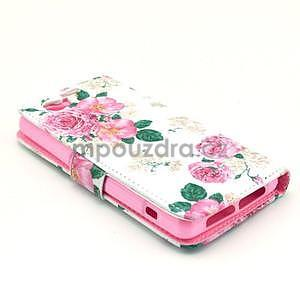 Pouzdro na mobil Sony Xperia Z1 Compact - květiny - 4