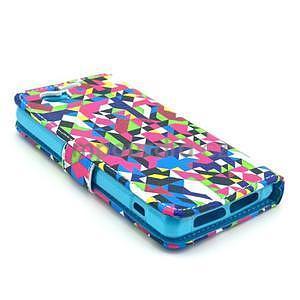 Pouzdro na mobil Sony Xperia Z1 Compact - geometircké vzory - 4
